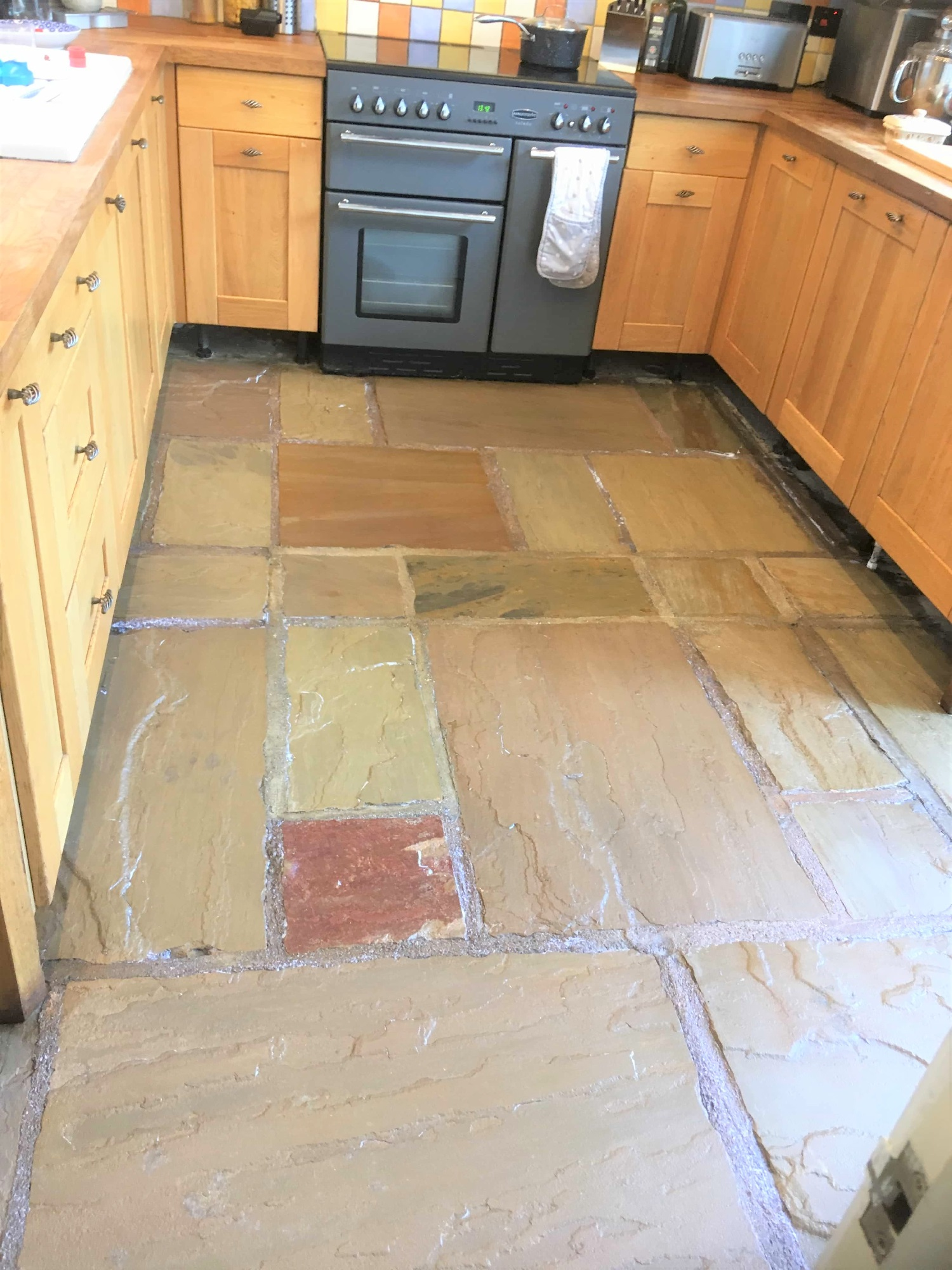 Sandstone Floor After Renovation Burscough