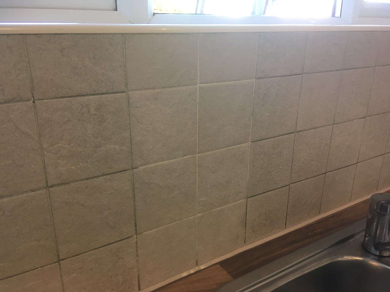 Ceramic Wall Tile Grout During Test Clean Chorley